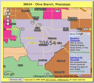 Huge Zip Code Map Zip Code Map
